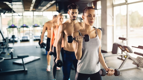 La actividad física grupal se encuentra entre los diez primeros (iStock)