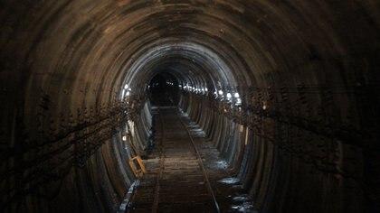 En algunos tramos de la traza, el túnel alcanza los 20 metros de profundidad (Gentileza Ministerio de Transporte)
