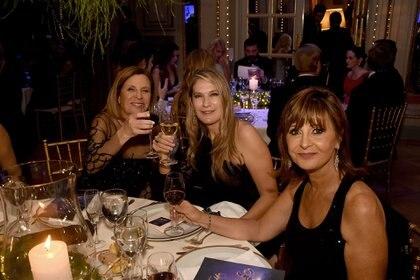 Rosi Flom, Ana Rusconi y Myriam Levy