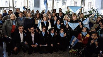 Diputados y senadores apoyaron a distintas organizaciones de la Unidad Provida