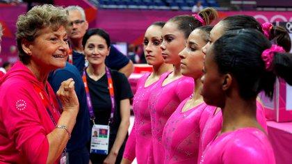 Martha Karolyi, una de las protagonistas del escándalo que sacudió a la gimnasia de Estados Unidos (Reuters)