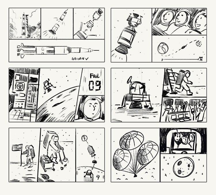 El arte estuvo a cargo del artista Pedro Vergani y es narrado por Michael Collins. (Imagen: Google)