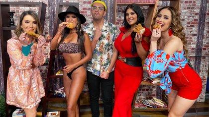 """Serrath y Curvy Zelma fueron invitadas a """"Venga la alegría"""" tras su paso por """"Survivor México"""" (TW: VengaLaAlegría)"""
