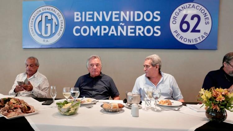 Luis Barrionuevo y Carlos Acuña, dos de los primeros críticos sindicales del Gobierno