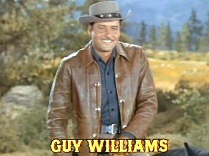 """Guy Williams en """"Bonanza"""""""