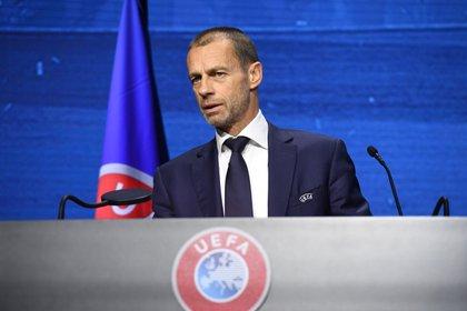 Aleksander Ceferin, presidente de la UEFA (Reuters)
