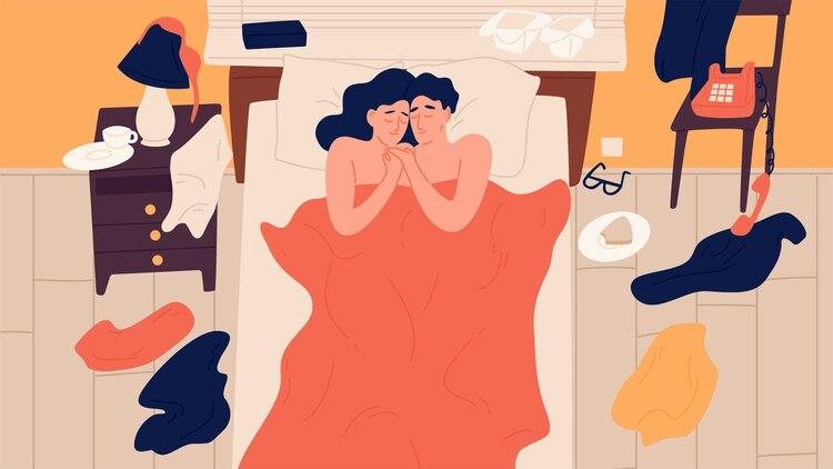 Parece haber una correlación positiva entre las parejas que se masturban y una frecuencia y disfrute satisfactorios en sus experiencias sexuales (Shutterstock)