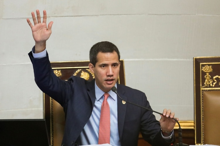 Juan Guaidó aspira a ser reelecto como presidente de la Asamblea Nacional (REUTERS/Manaure Quintero?)