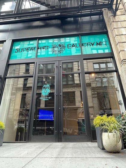 Boom del arte digital: abre en Nueva York la primera galería especializada (@superchiefgallerynft)