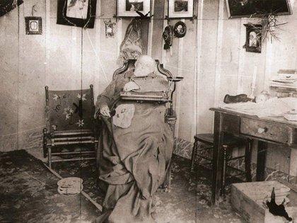 La foto de Domingo Faustino Sarmiento el día de su muerte
