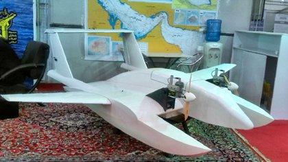 Drone iraní (AFP)