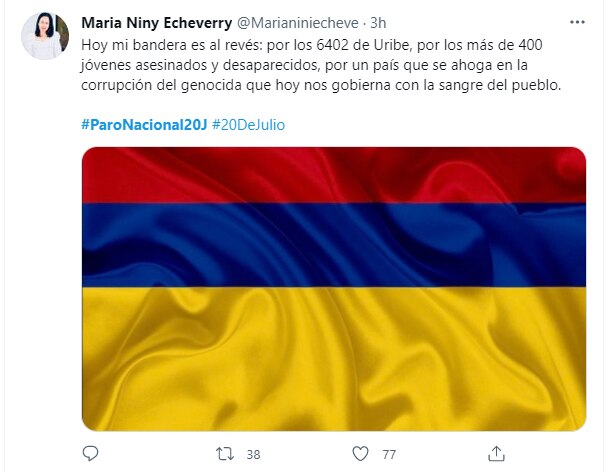 Vía Twitter - @Marianiniecheve