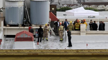 Nadie podía explicarse cómo la joven había terminado en un tanque de agua de tres metros de altura (imagen CNN)