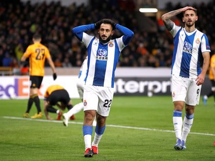 En julio de 2019, Espanyol le compró la ficha de Vargas a Vélez a cambio de 10 millones de euros (REUTERS/Phil Noble)