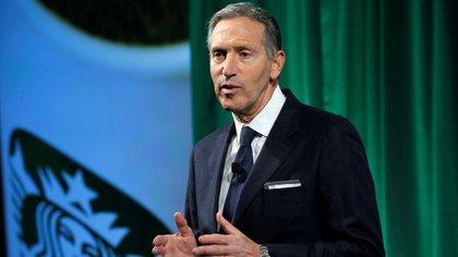 Howard Schultz comandó Starbucks durante 37 años. Su fortuna, según Forbes, es de US$ 4.300 millones (Reuters)