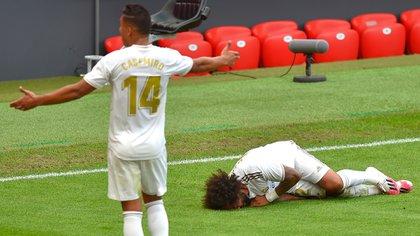 El lateral brasileño será baja por al menos tres semanas (Photo by ANDER GILLENEA / AFP)