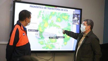 Hernández a ordonné l'évacuation immédiate des zones à haut risque.