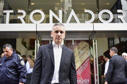 El empresario Marcelo González, que hace cinco años compró el teatro y se propuso volver a ponerlo en actividad (Christian Heit)