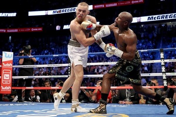 La pelea entre Mayweather y McGregor estuvo contemplada en la confección de la lista