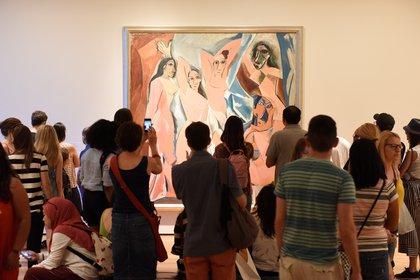 """""""Las señoritas de Avignon"""", de Pablo Picasso (Shutterstock.com)"""