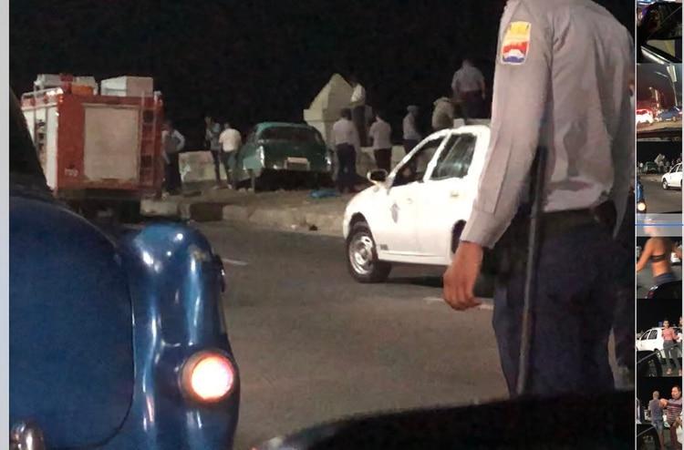 Atropello en Malecón de La Habana deja 4 muertos — Accidente en Cuba