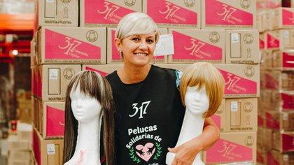María Rita Fournier se transformó en imagen de 317