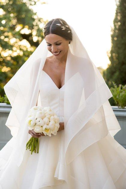 La boda se realizó en el Palacio Sans Souci de Victoria