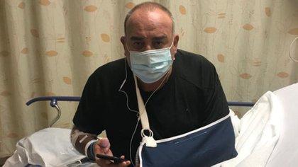 Cabrera tras su cirugía en su último post de Facebook.
