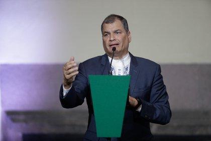 Rafael Correa (Europa Press/Archivo)
