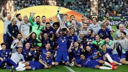 El Chelsea goleó 4-1 y es campeón de la Europa League  (Reuters)