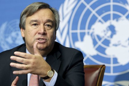 El secretario general de Naciones Unidas, António Guterres (EFE)