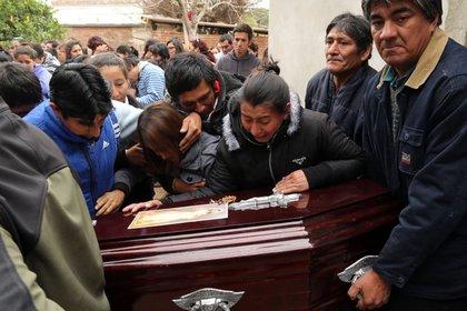 """Junio de 2016: """"Marito"""" es enterrado en Quimilí."""
