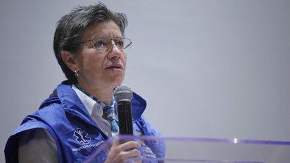 Alcaldesa de Bogotá, Claudia López. (Colprensa-Sergio Acero)