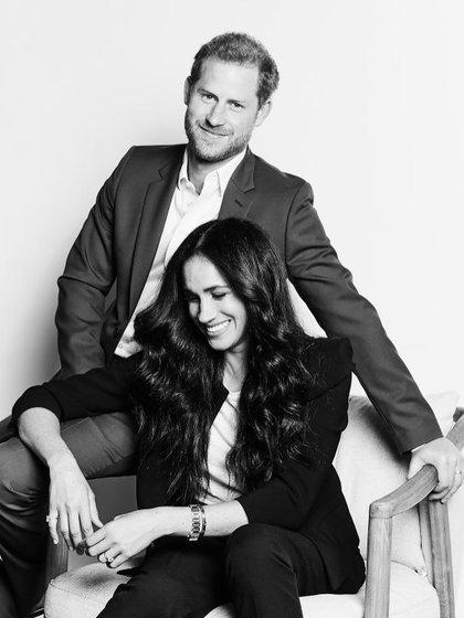 Meghan Markle y el príncipe Harry firmaron un acuerdo millonario con Netflix para la producción de contenido audiovisual (@royalreplimeghan)
