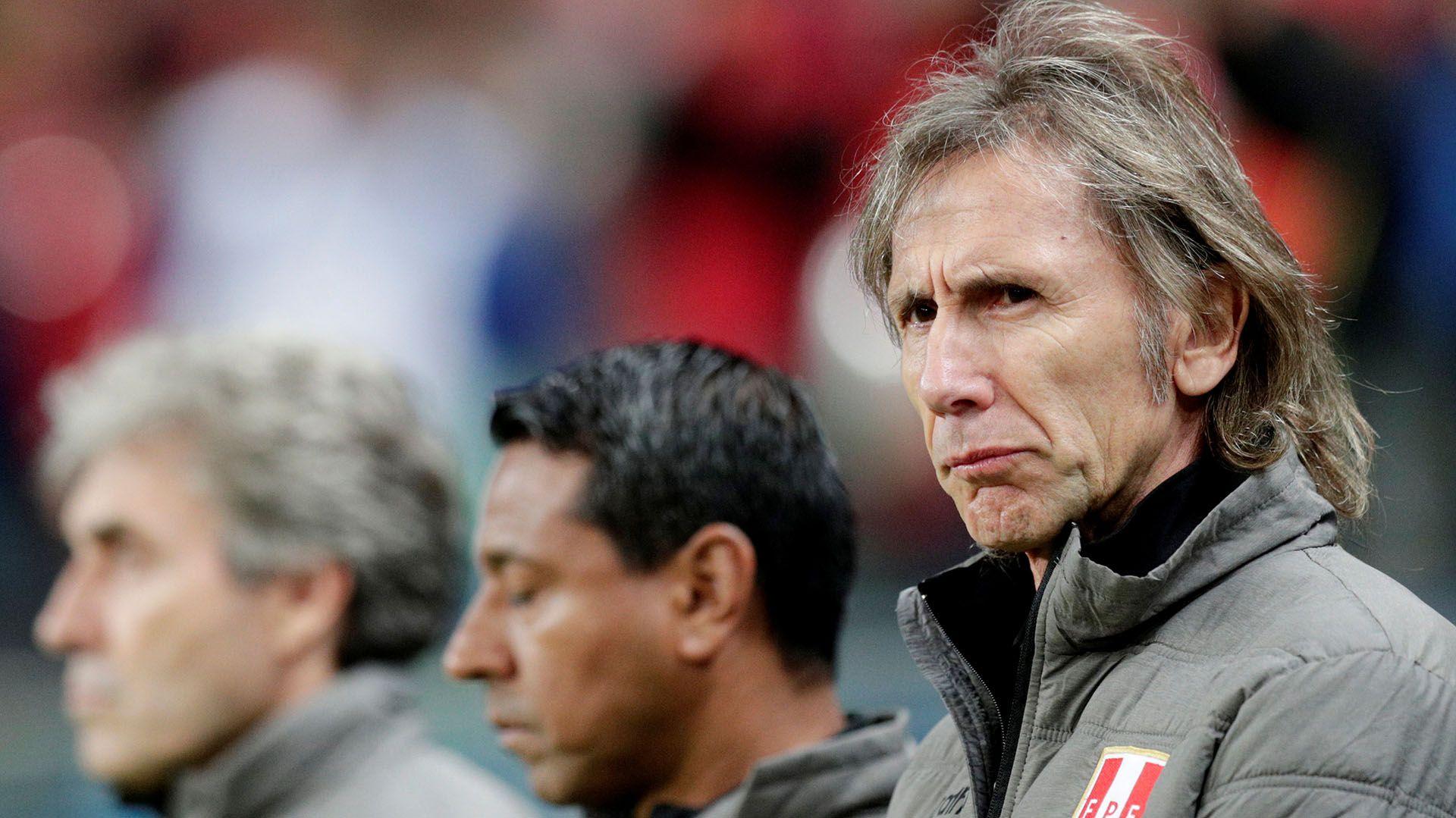 Ricardo Gareca descartó asumir en la selección argentina en reemplazo de Lionel Scaloni (REUTERS/Ueslei Marcelino)