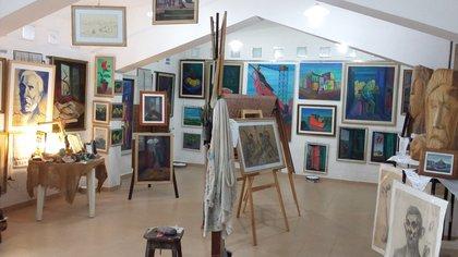 El Museo pictórico Luis José Pisano, en San Marcos Sierras