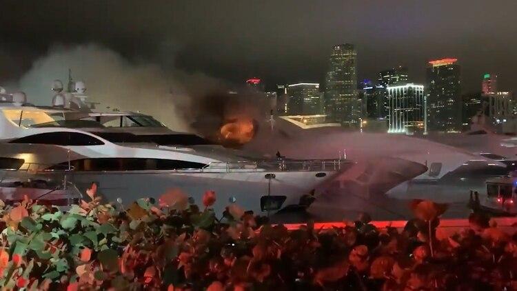 la propiedad del cantante Marc Anthony fue catalogada como pérdida total. (Foto: Captura de pantalla)