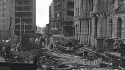 El Bogotazo, 9 de abril de 1945, día en que murió Jorge Eliécer Gaitán.