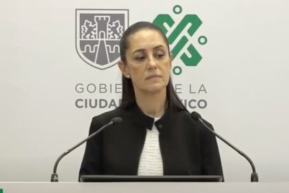 Claudia Sheinbaum, jefa de gobierno capitalina Foto: captura de pantalla videoconferencia diaria