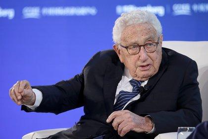 Henry Kissinger en el Foro Económico de Beijing, China [21 de noviembre de 2019] (Reuters/ Jason Lee)