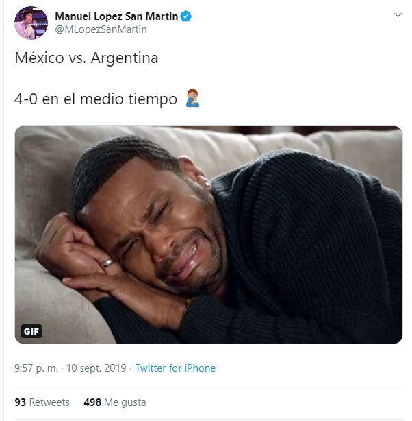 Muchos aficionados recordaron el 7-0 contra Chile. (Foto: Twitter)