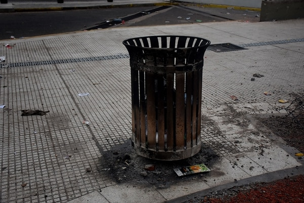 Reparar los destrozos en el centro porteño costará 23 millones de ...