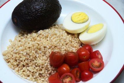 Una ensalada con arroz (Matías Arbotto)
