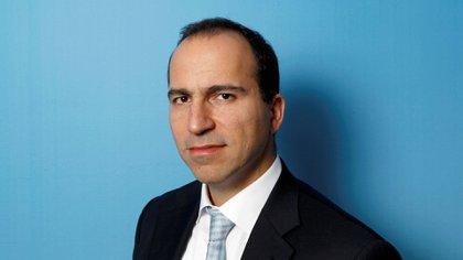El nuevo CEO de Uber, Dara Khosrowshahi, en una foto de 2010 (Reuters)