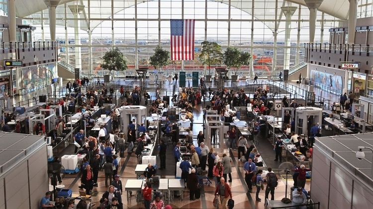 Un aeropuerto estadounidense (Foto: Getty)