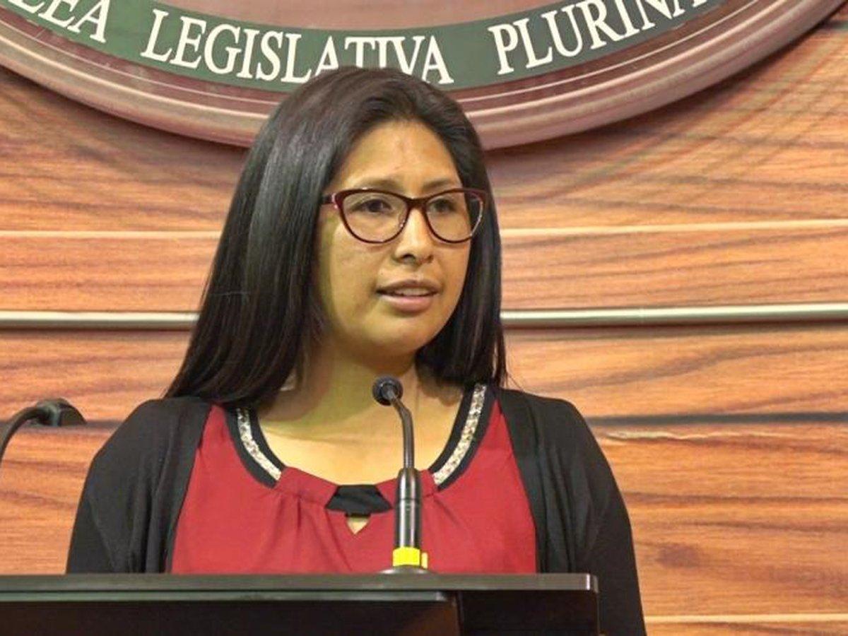 Eva Copa, presidente del Senado de Bolivia, también tiene coronavirus -  Infobae