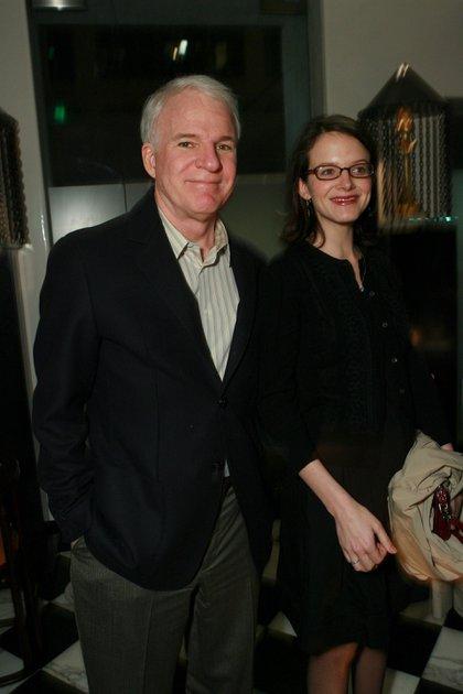 Steve Martin y su esposa, Anne Stringfield