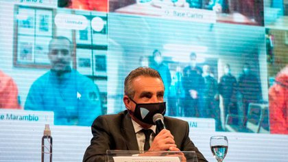 """Rossi aseguró que """"los protocolos sanitarios en Antártida se pusieron en vigor en el mes de febrero 2020"""""""