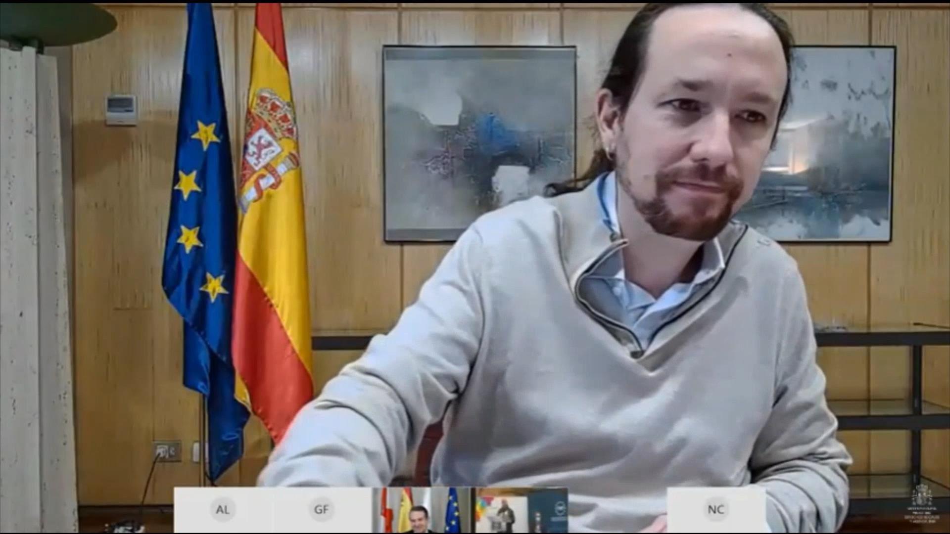 11/12/2020 El vicepresidente segundo del Gobierno, Pablo Iglesias POLITICA  IMÁGENES CEDIDAS