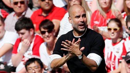 Guardiola defendió el fútbol de posesión en su última rueda de prensa (Reuters)